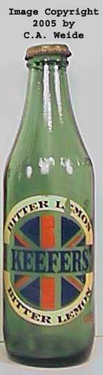 Kolatona ACL Bottle Huntington Green Glass 7 Ounce IND